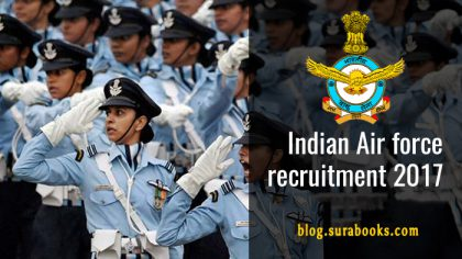 Indian Air Force Recruitment 2017 174 Group 'C' Civilian Posts