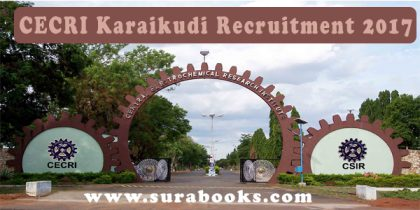CECRI Karaikudi Recruitment 2017 34 Apprentices Posts