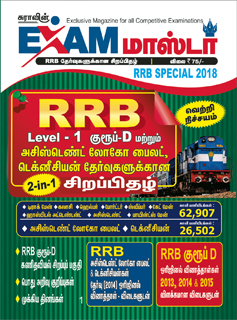 Sura`s Exam Master RRB Special Magazine in March 2018
