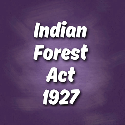 Centre drops plan to bring in changes to Forest Act of 1927